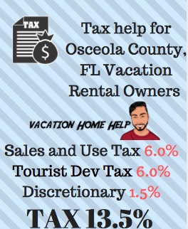 How To Pay Osceola County Tourist Tax For Vacation Rentals