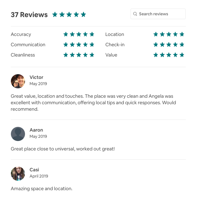 Remove bad review AirBnB