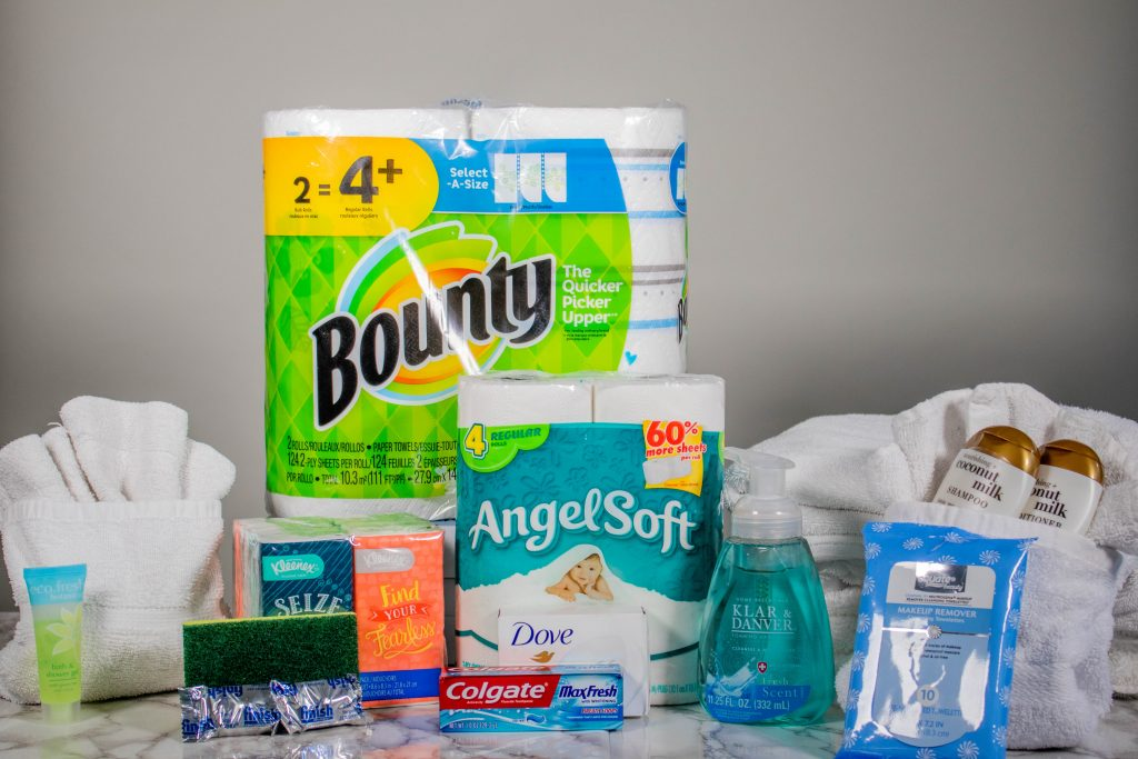 Airbnb essential supplies for guests